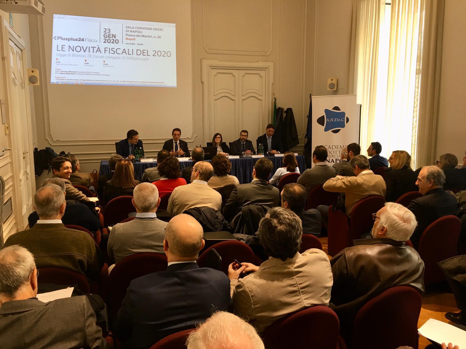 """Fisco, Michelino (Andoc Napoli): """"Nel 2020 tante novità, ruolo commercialisti sempre più centrale"""""""